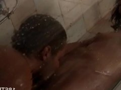 Hot amateur sex in the shower