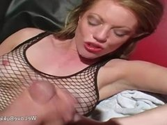 Gangbanged and creamy facial cumshots for Holly