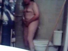 My sister masturbating in bathroom caught by hidden cam