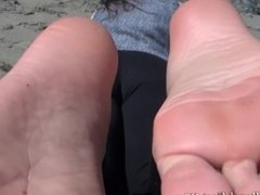 Cute Librarian Loves To Show Off Her Bare Soles 3
