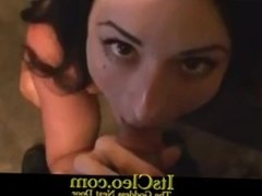 """Don't Cum Yet"""" Naked Big Tits ItsCleo Let Lucky Pizza Guy Fucking Her Real"""