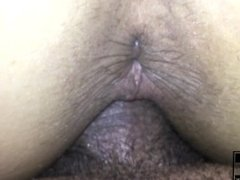 Teen Doggystyle POV cumming inside