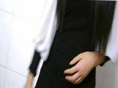 Little girl masturbating on webcam - myxcamgirl.com