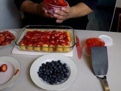 4th of July Twinkie Flag Cake Recipe!!!