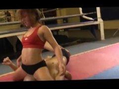 Gymnast Eve Mixed Wrestling