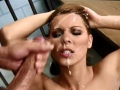 In The Face Cumshot Compilation 1