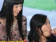 Asian Mom Oversees Teenage Daughter Sucking Off New Lodger