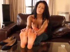 Mature Feet Soles