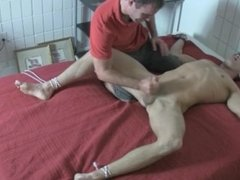 Tied up Foot Tickle and Torture