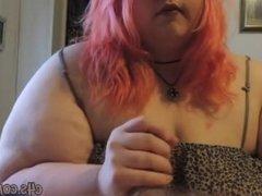 bbw princessfat's first sex tape part 1