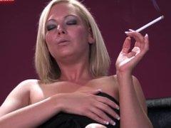 Krystal Pink - Smoking & Masturbating