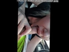 Rush Hour Road Head-Red Light Cum Show-OurDirtyLilSecret