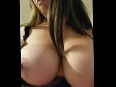 Riding that cock like a true cowgirl with my boots on.  Cum shot on ass.