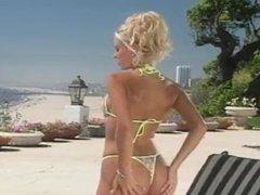 Jana cova Front bikini strip. HOT PUSSY