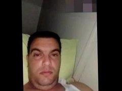 Algerian man horny jerk off cam show