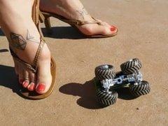 high heel thong crush