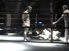 Bodybuilder beat down