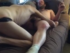 Redneck With Electronic Tag Fucks Daddy