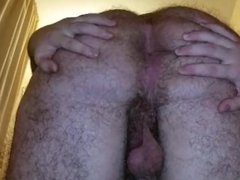 Showing Off My Big Hairy Ass