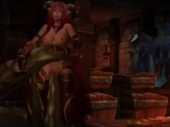 Sexy World of Warcraft Animations Complication