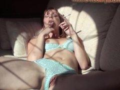 Jo May - Smoking Masturbation 2