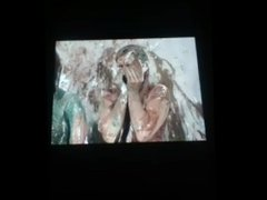 amber and Christine pied and slimed amber's POV