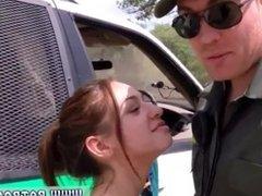 Brianna's police medical exam xxx strip tease and creampie sex
