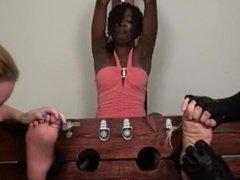 Ebony tickled in stocks