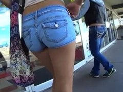 Candid Blonde Shorts- In Honor of National Free SLURPEE Day