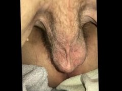 Wife cums on fuck buddy's cock