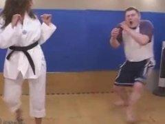 Karate Mixed Fight in Gi