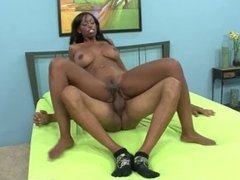 RealBlackExposed - Horny milf finds the massive dick of her dreams