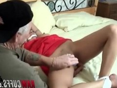 Young Model Yvette Leigh Gets Tied And Toyed By Some Creepy Dude