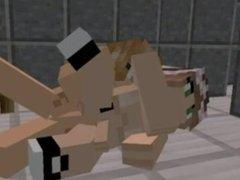 Minecraft porno 5: Futanari
