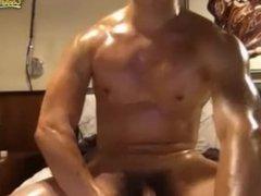 Handsome Chinese Man Cumming 2