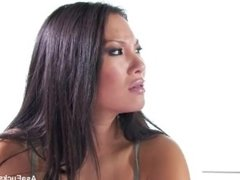 Asa Akira gets an anal creampie from a zombie!