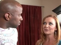 Angry Racist Readhead Cheating Wife Gets Fucked By Black Cock Janet Mason