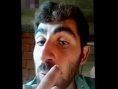 Turkish man very horny at work