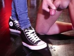 STRONG BALLBUSTING WITH MY CONVERSE ALL STAR