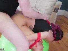 Sydney's office bdsm hot orgasm toys gym ass-slave yoga
