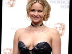 Jennifer Lawrence Beat Off Challenge