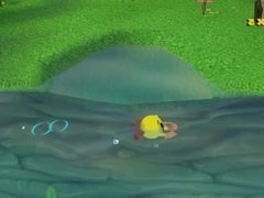 Underwater Fetishes: Pac-Man World 2 Frog style Breaststroke Swim