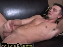 Hunter-guys stroking each other at urinal gay porn hot twink
