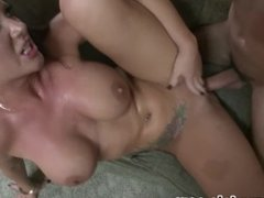 Big Tits JAYDEN JAMES Fucked by Huge Cock for CUM ON TITS Reward! WOW! A++