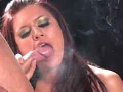 SmokeyMouths Eva Angelina Smoking sex-pt2