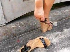 Shoeplay And Walk