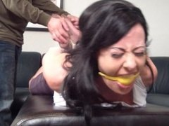 Hogtied, Gagged and Tickled