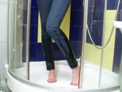 jeans get wet jane