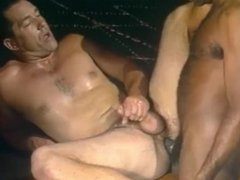 Vintage interracial sex scene