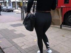 Big ass voyeur teen leggings